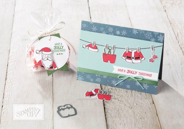 Set de tampons Santa's Suit