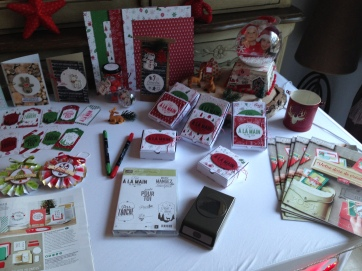 Atelier de Noël du 9 Décembre 2017