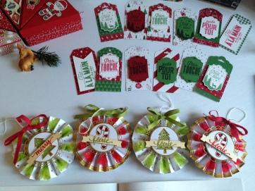 Etiquettes cadeaux et kit Soyons Joyeux